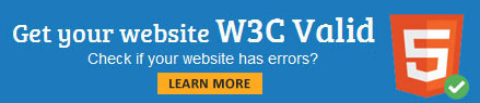 W3C validation Service online