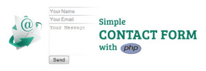 How to create a simple contact form with php