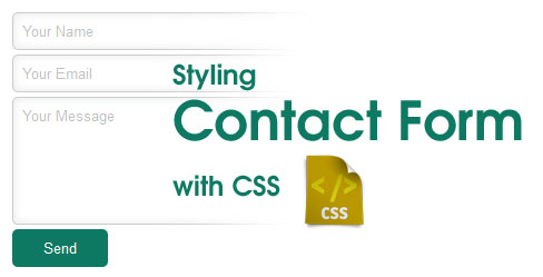 Style a Contact Form with css