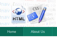 Simple Navigation Bar with HTML / CSS